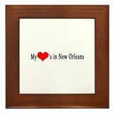 New orleans Framed Tiles