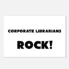 Corporate Librarians ROCK Postcards (Package of 8)