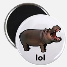 Lol hippo Magnet