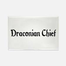 Draconian Chief Rectangle Magnet