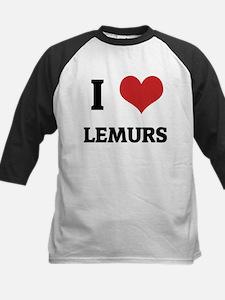 I Love Lemurs Tee