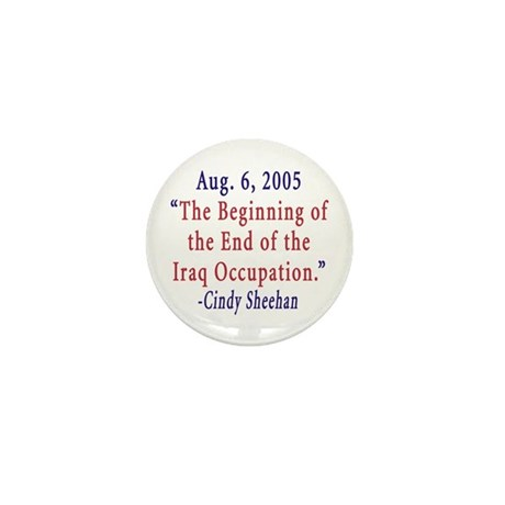 Support Cindy Sheehan Mini Button (100 pack)