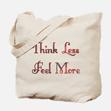 Think Less Design #91 Tote Bag