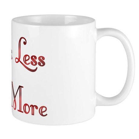 Think Less Design #91 Mug