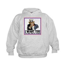 To Get Out And Vote Hoodie