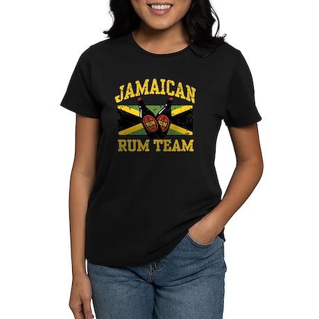 Jamaican Rum Team Women's Dark T-Shirt