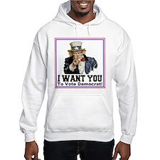 To Vote Democrat Hoodie