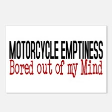 MOTORCYCLE EMPTINESS Bore Postcards (Package of 8)
