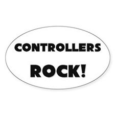 Controllers ROCK Oval Decal