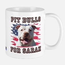 Pit Bulls for Sarah Mug