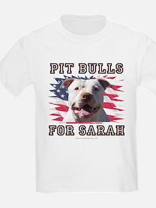 Pit Bulls for Sarah T-Shirt