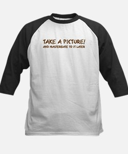 Picture time Kids Baseball Jersey