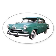 Helaine's Green Henry J Too Oval Decal