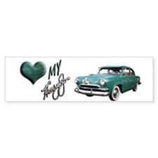 Helaine's Green Henry J Too Bumper Bumper Sticker