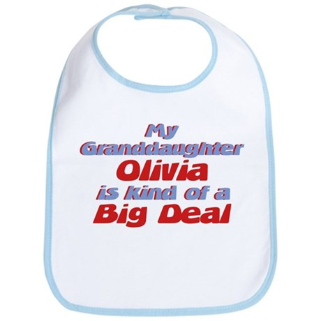 Granddaughter Olivia - Big De Bib