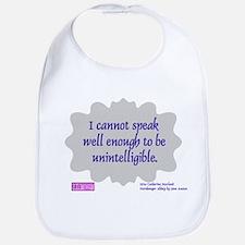 bennetgirls Jane Austen quote Bib
