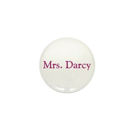 bennetgirls Mrs. Darcy Mini Button