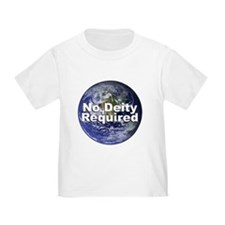 """No Deity Required"" T"