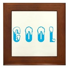 so hot its cool Framed Tile