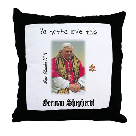 Pope Benedict XVI Throw Pillow