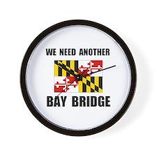 ANOTHER BRIDGE Wall Clock