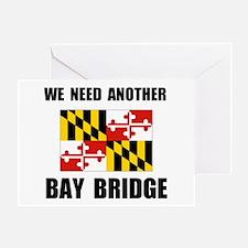 ANOTHER BRIDGE Greeting Card