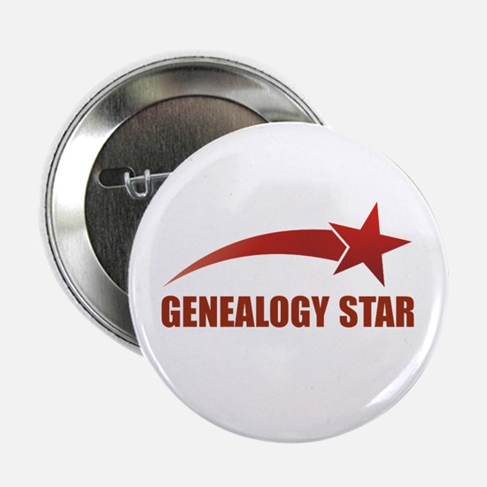 "Genealogy Star 2.25"" Button"