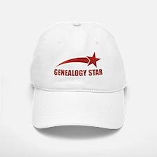 Genealogy Star Baseball Baseball Cap