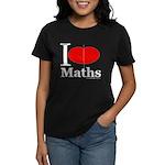 I Love Maths Women's Dark T-Shirt