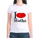 I Love Maths Jr. Ringer T-Shirt