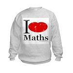 I Love Maths Kids Sweatshirt