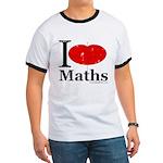 I Love Maths Ringer T
