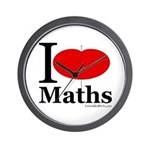 I Love Maths Wall Clock