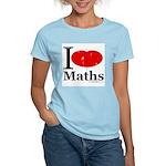 I Love Maths Women's Light T-Shirt