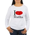 I Love Maths Women's Long Sleeve T-Shirt