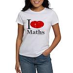 I Love Maths Women's T-Shirt