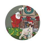 Afghan hounds christmas Ornaments