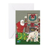 Afghan hound Greeting Cards (10 Pack)