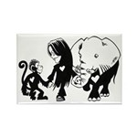 Gillian and Friends Rectangle Magnet (10 pack)