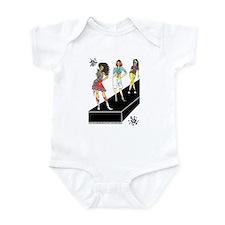 unleashed, fashion illustrate Infant Bodysuit