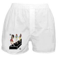 unleashed, fashion illustrate Boxer Shorts