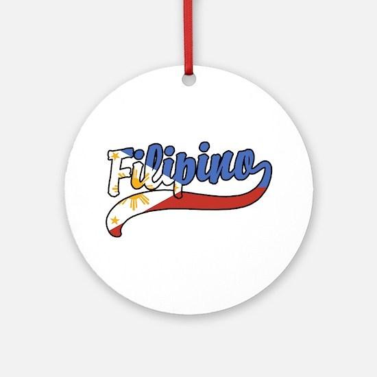 Filipino Ornament (Round)