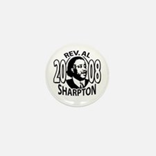 Sample Al Sharpton 2008 Mini Button