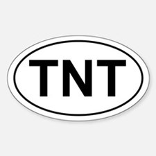 TNT Oval Decal