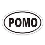 POMO Euro Oval Sticker