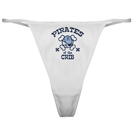 Pirates of the Crib Classic Thong