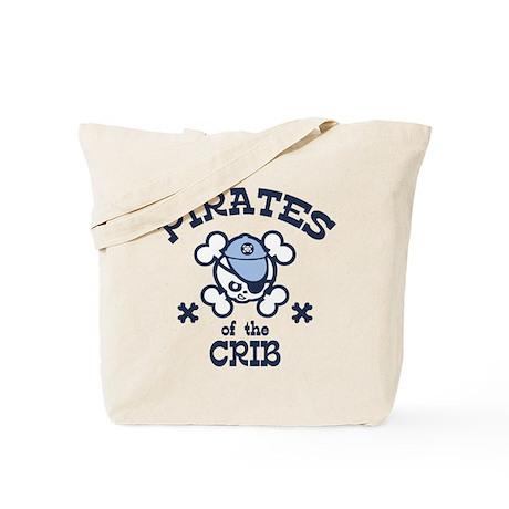 Pirates of the Crib Tote Bag