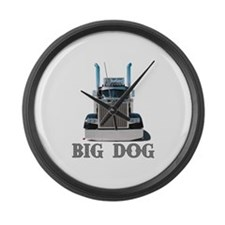 Big Dog Large Wall Clock