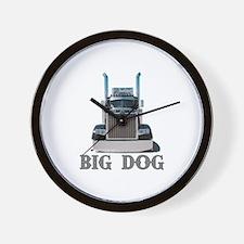 Big Dog Wall Clock