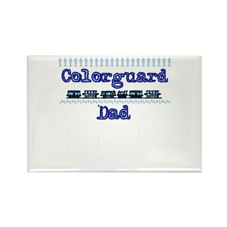 Colorguard Dad Rectangle Magnet (100 pack)